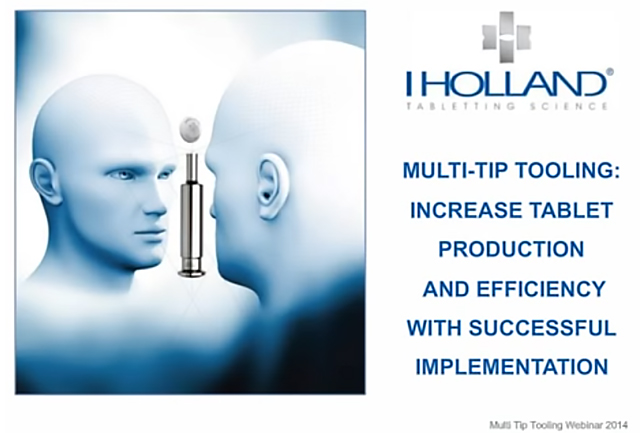 I Holland Webinar: Multi-Tip Tooling